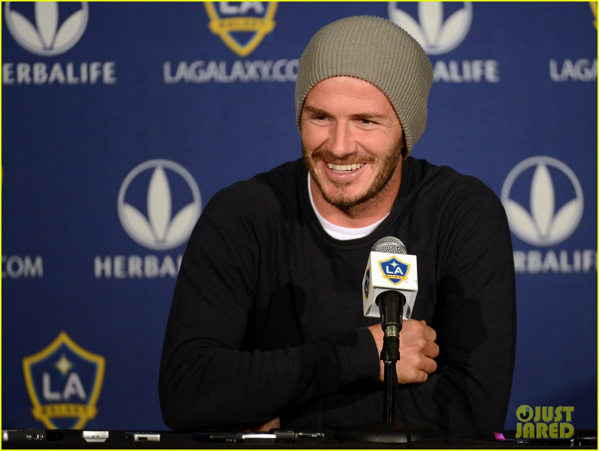 david beckham mls cup 2012 training session 05