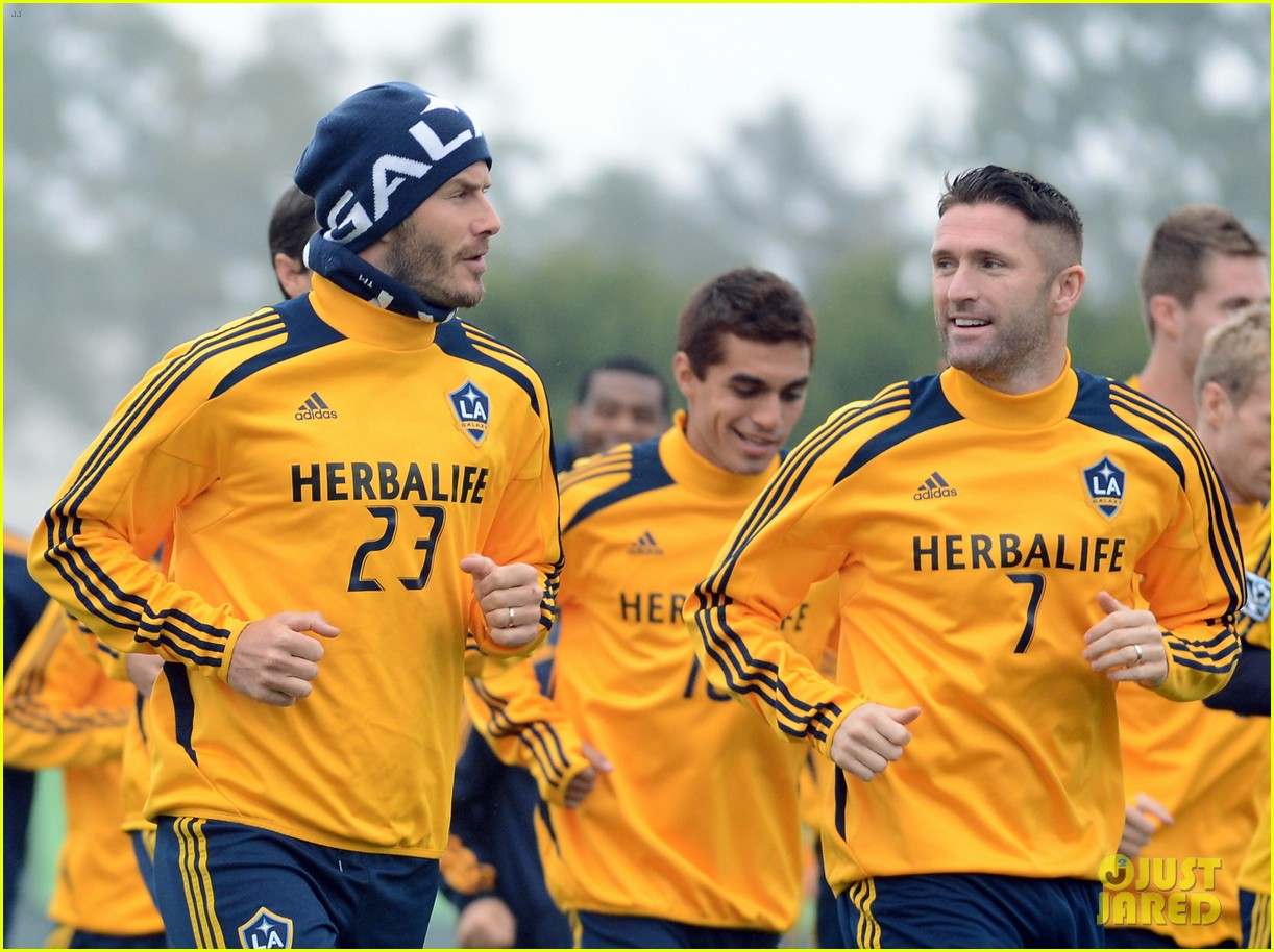 david beckham mls cup 2012 training session 092766193