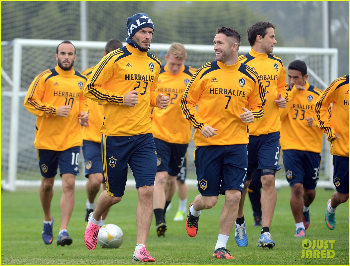 david beckham mls cup 2012 training session 102766194
