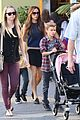 victoria beckham universal city walk with the kids 26