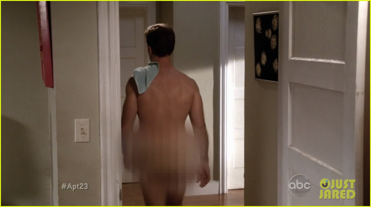 krysten ritter james van der beek goes naked for apartment 23 052759334