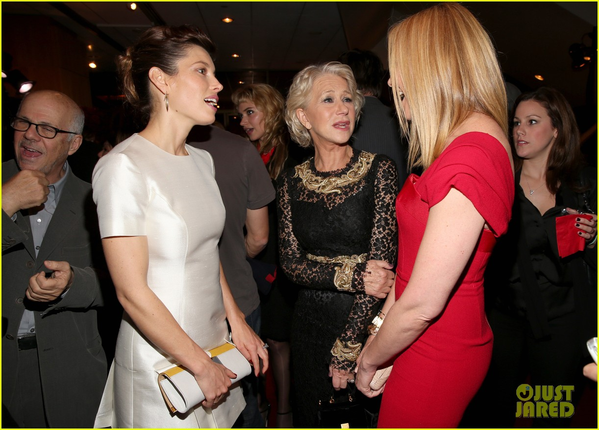 jessica biel hitchcock after party with helen mirren 102761853