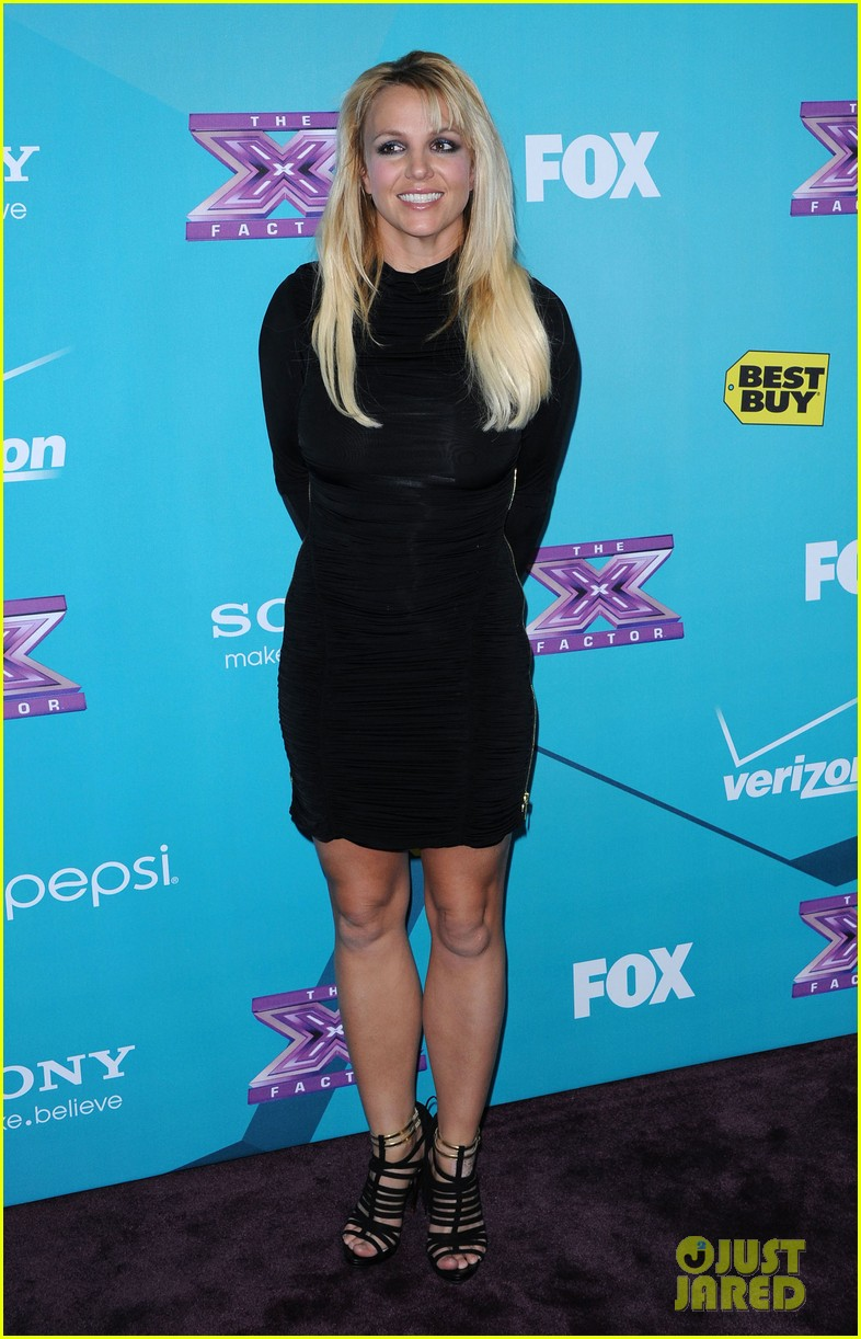 britney spears demi lovato x factor finalists party 01