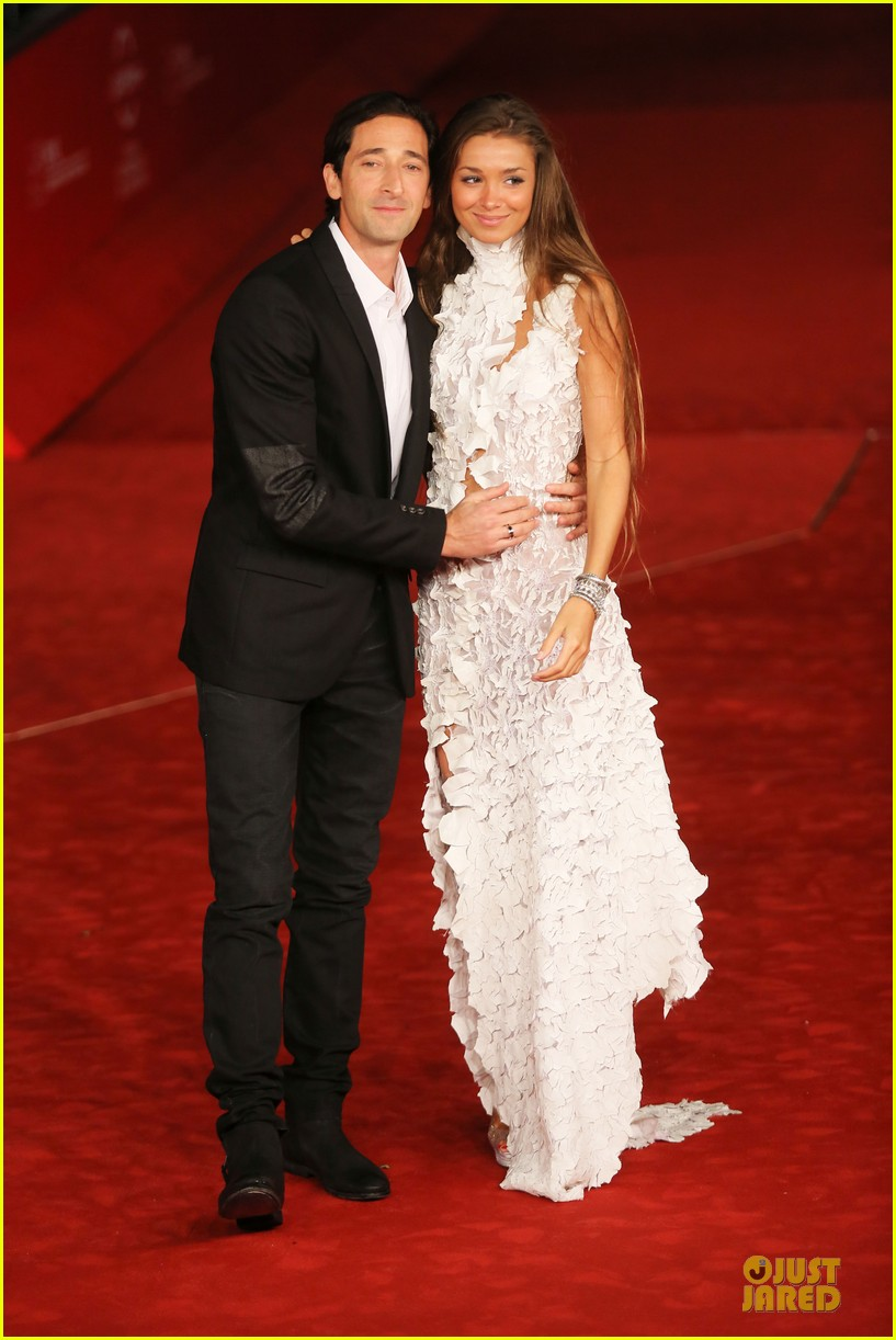 Adrien Brody with beautiful, Girlfriend Lara Lieto
