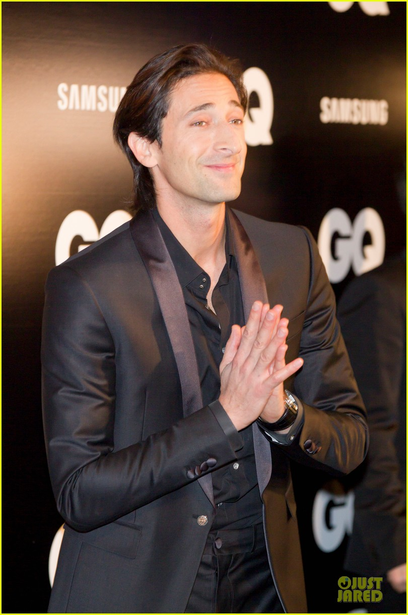 adrien brody lara lieto gq awards in madrid 132761195