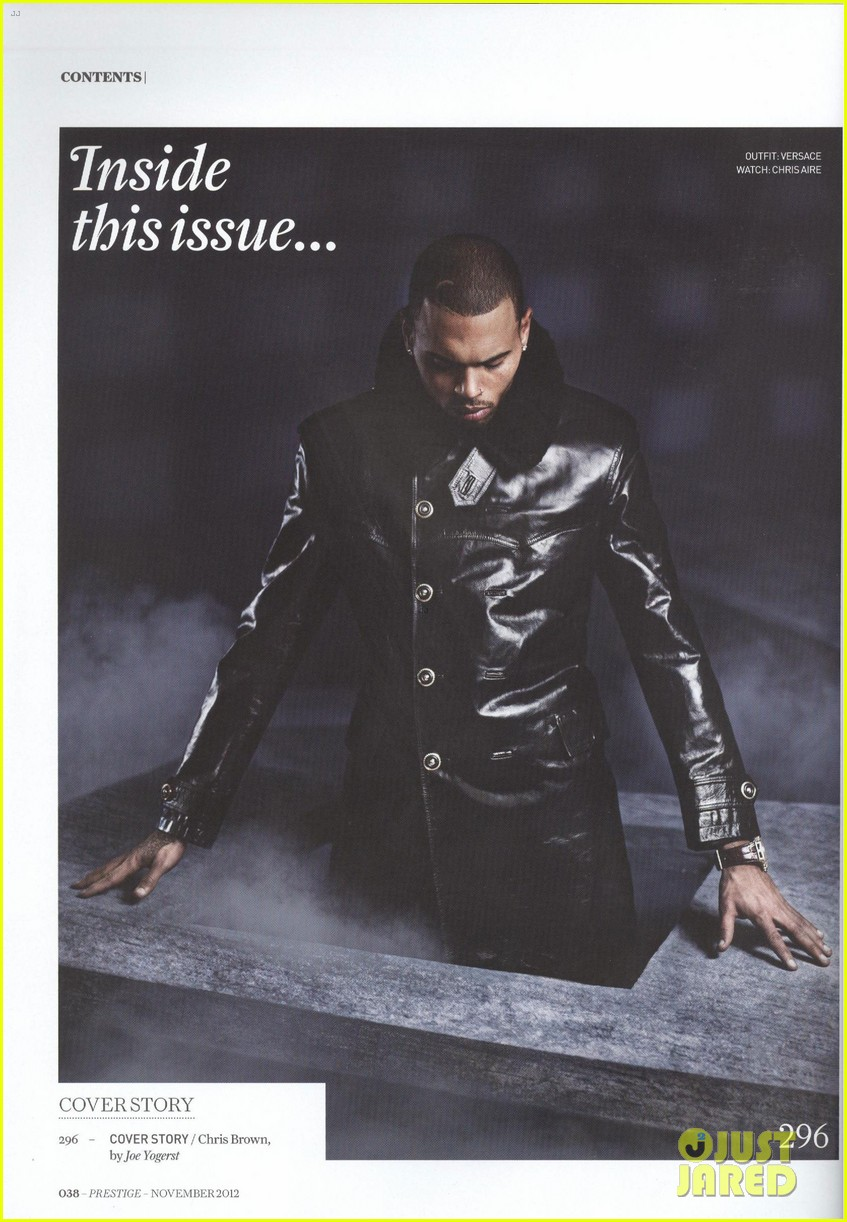 chris brown covers prestige november 2012 07