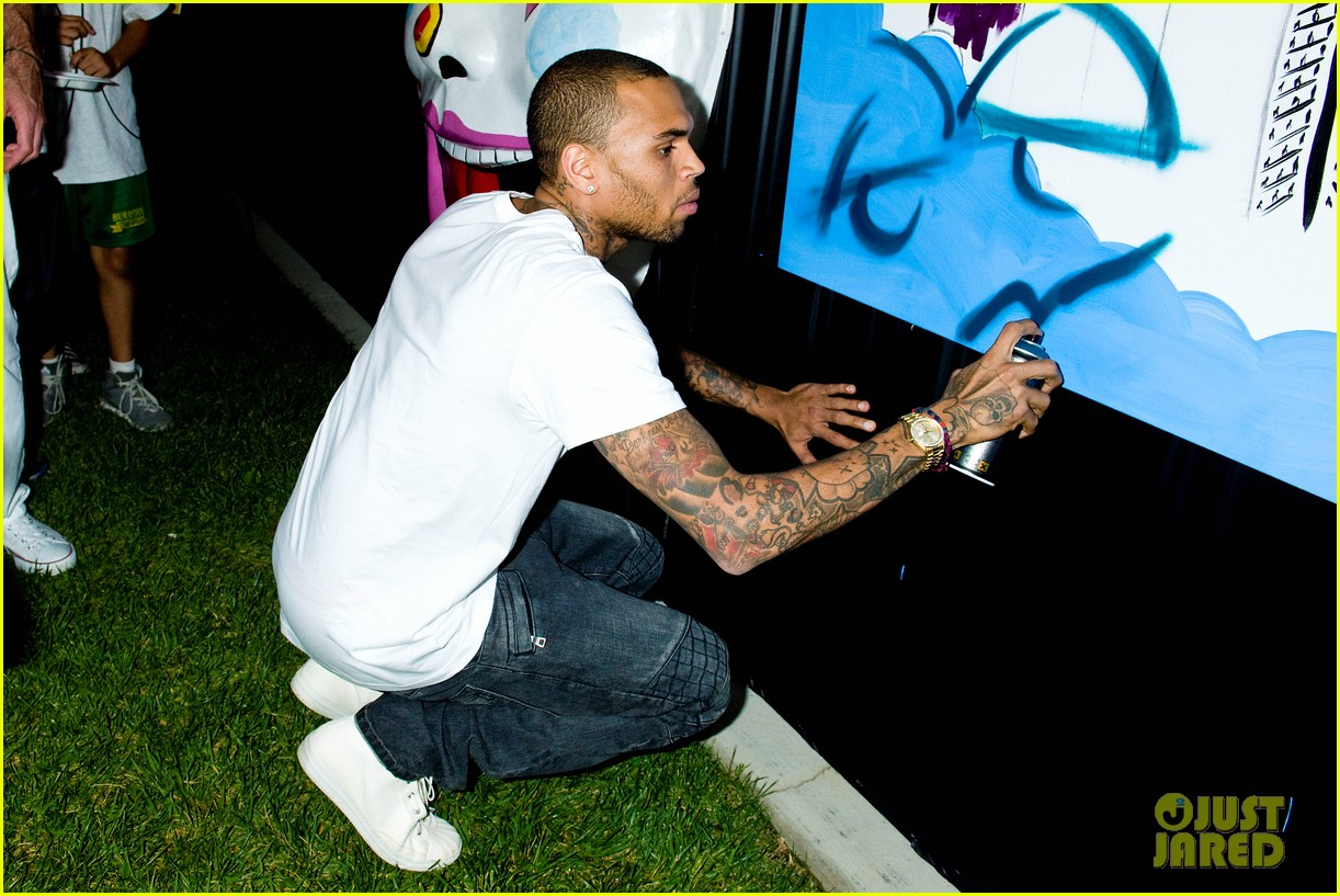 chris brown symphonic love foundation launch video 022755141