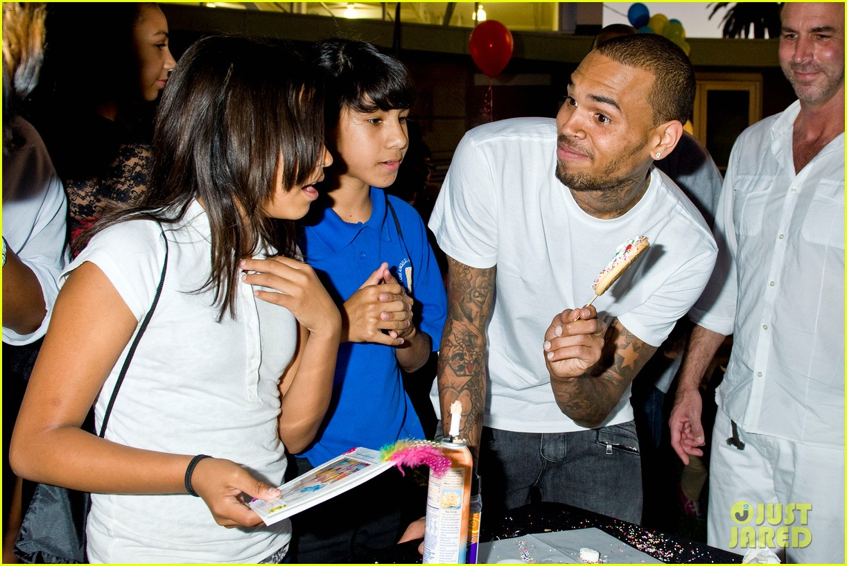 chris brown symphonic love foundation launch video 11