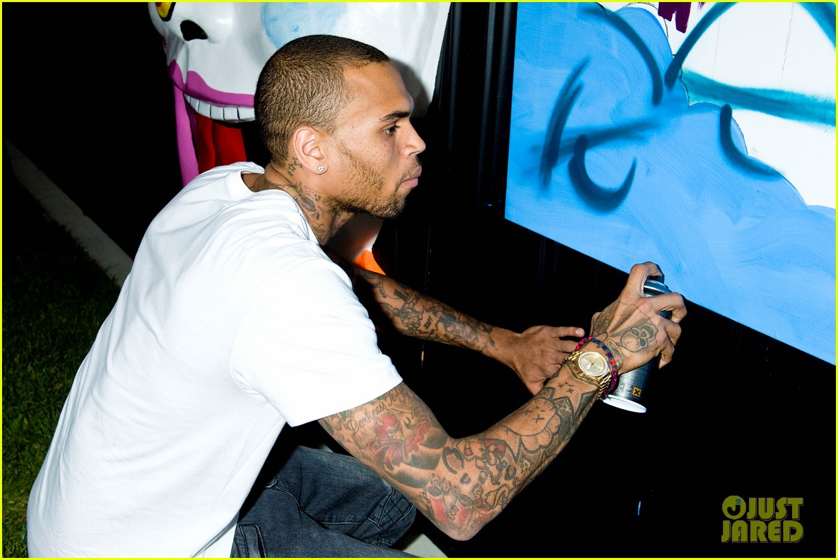 chris brown symphonic love foundation launch video 15