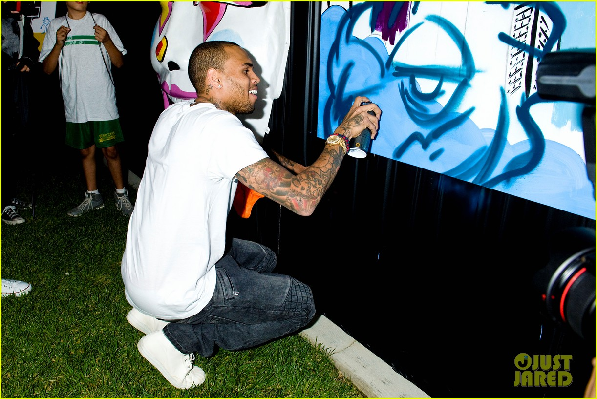 chris brown symphonic love foundation launch video 172755156