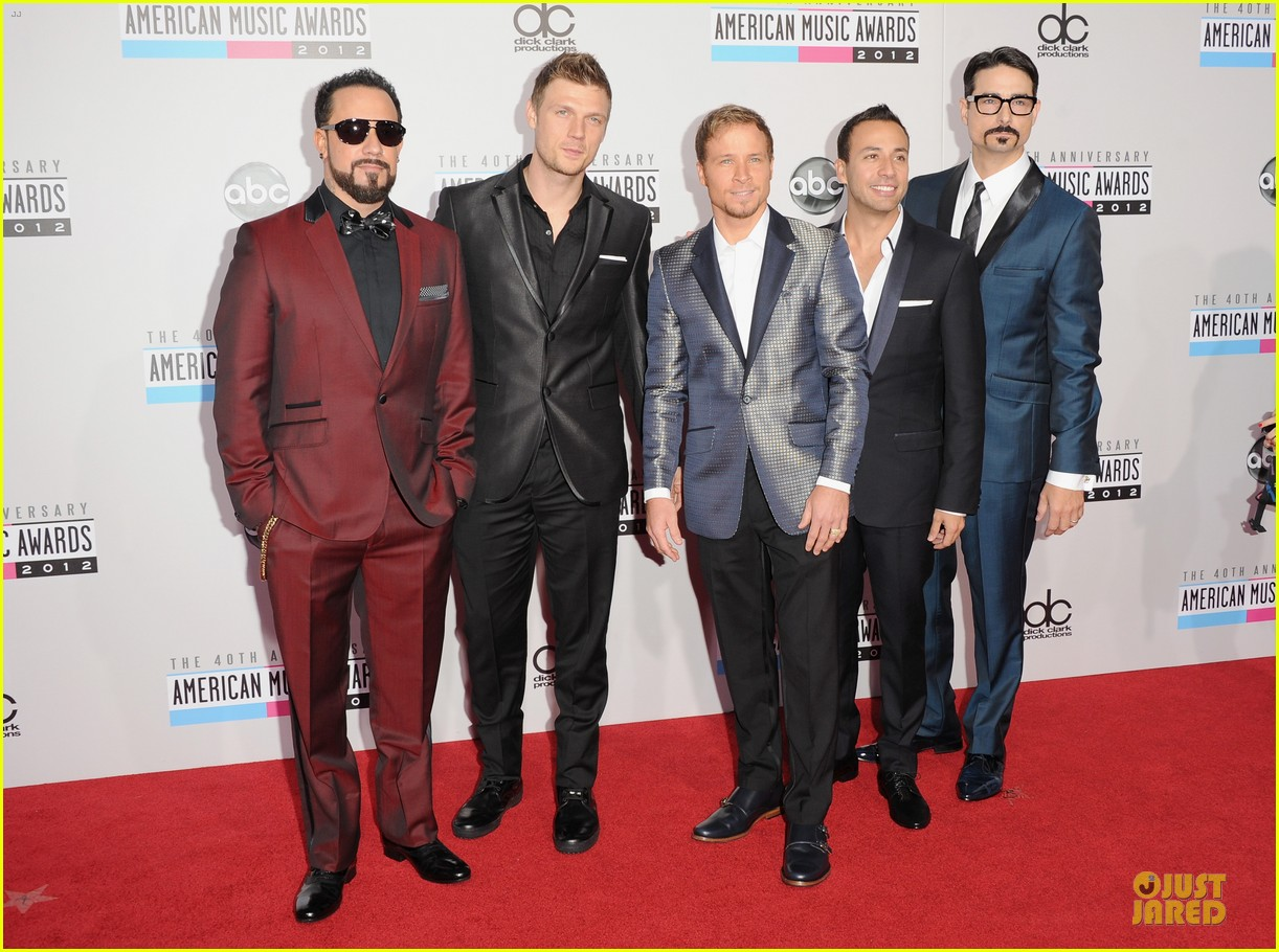 backstreet boys amas red carpet 01