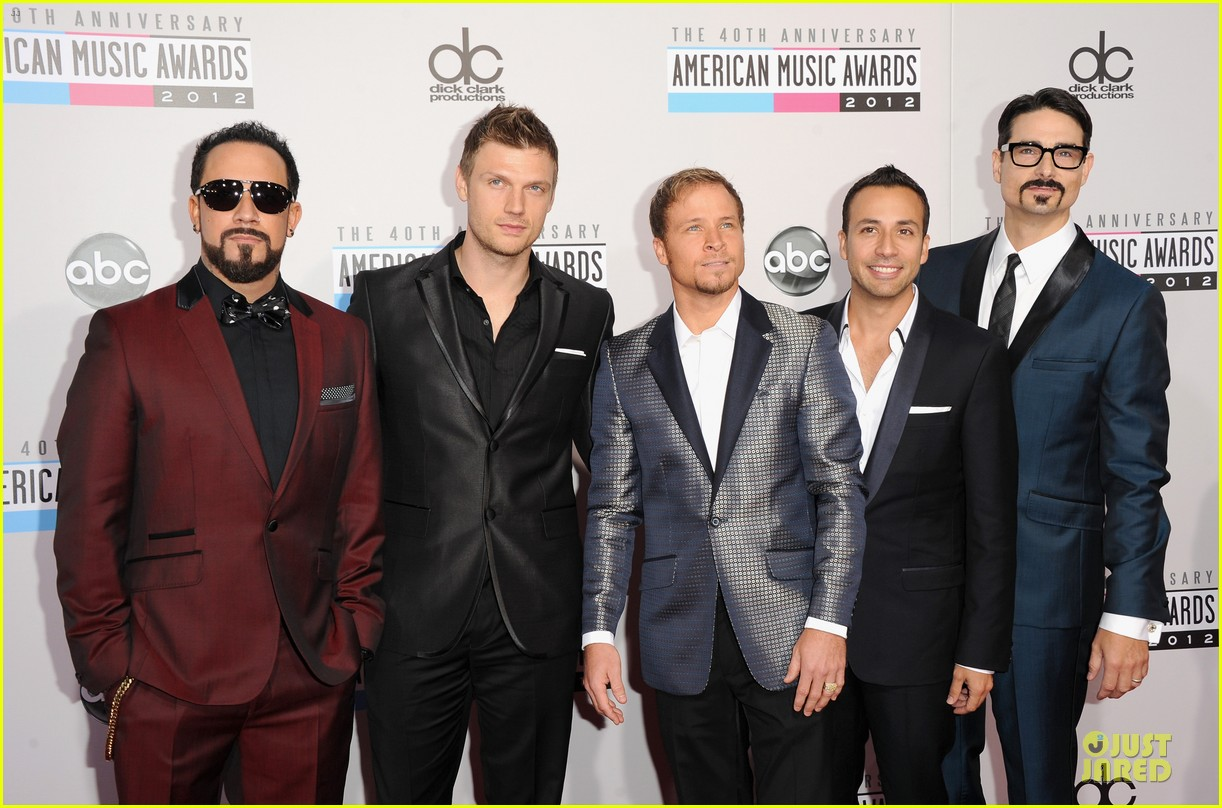 backstreet boys amas red carpet 032760213