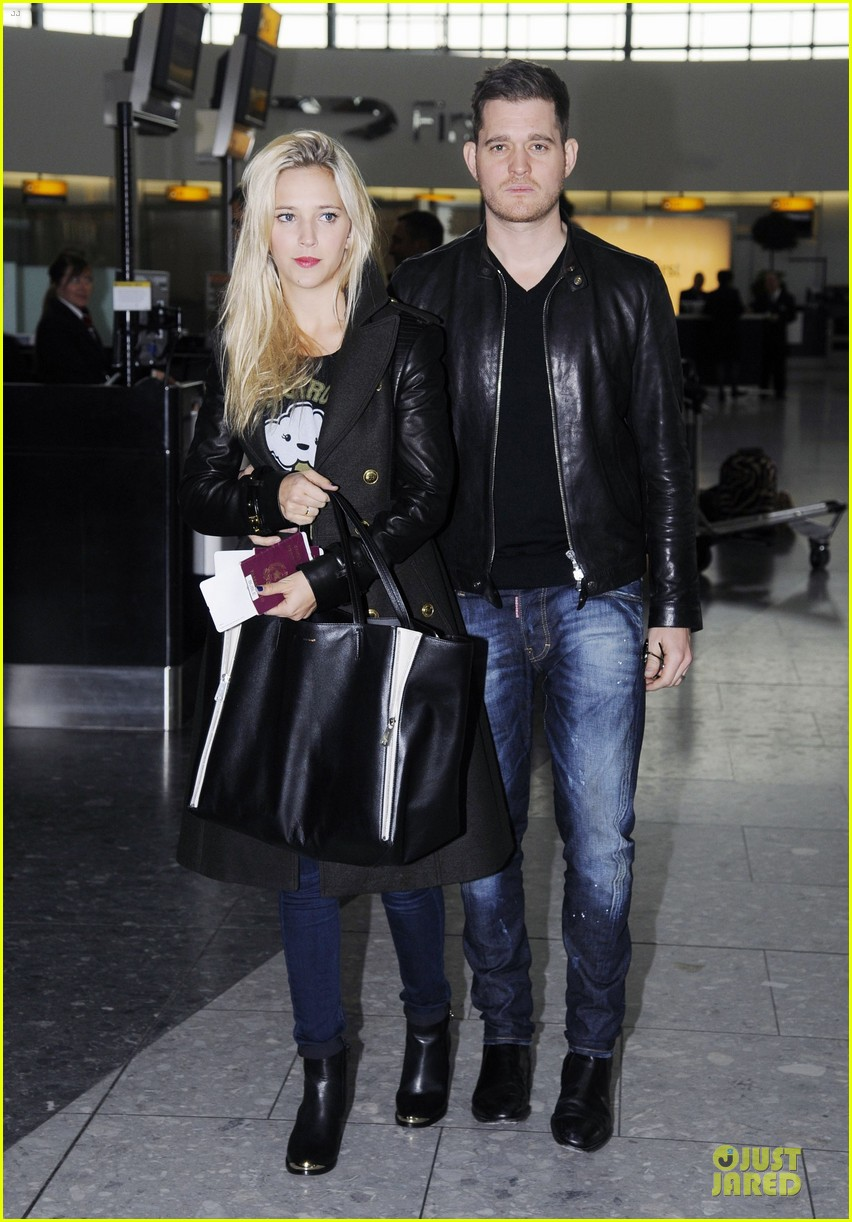 michael buble luisana lopilato london departing couple 06