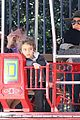 sandra bullock camila alves hang out with the kids 10