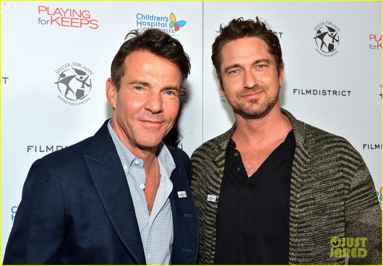 gerard butler playing for keeps childrens hospital screening 082765889