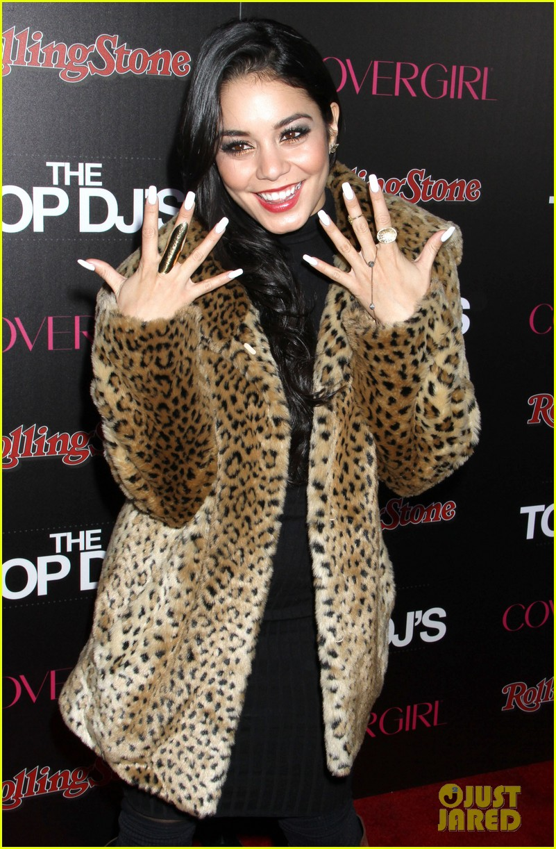 vanessa hudgens rolling stone party with austin butler 022753385
