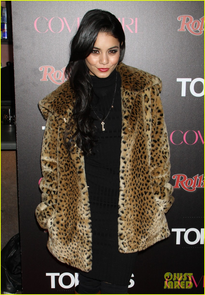 vanessa hudgens rolling stone party with austin butler 15