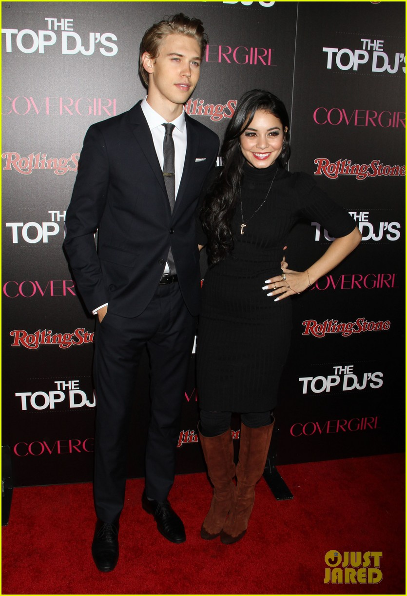 vanessa hudgens rolling stone party with austin butler 212753404