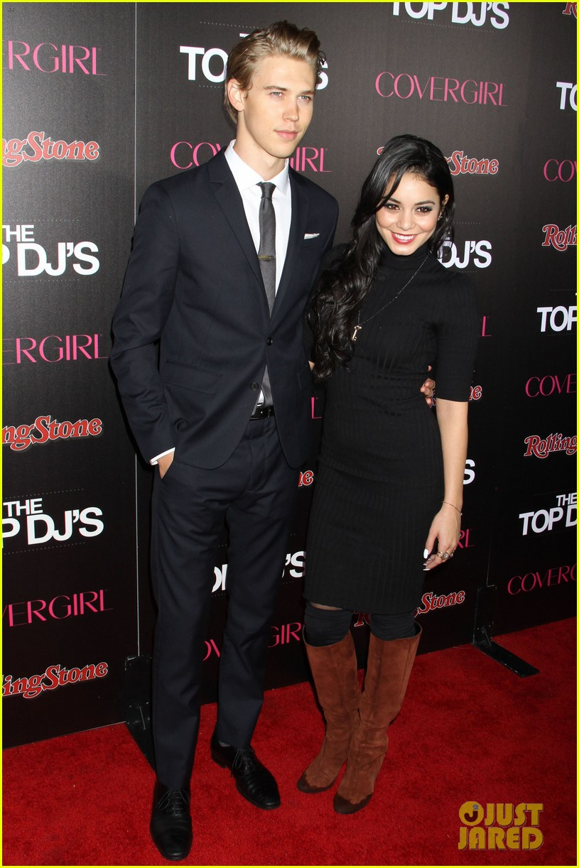 vanessa hudgens rolling stone party with austin butler 232753406