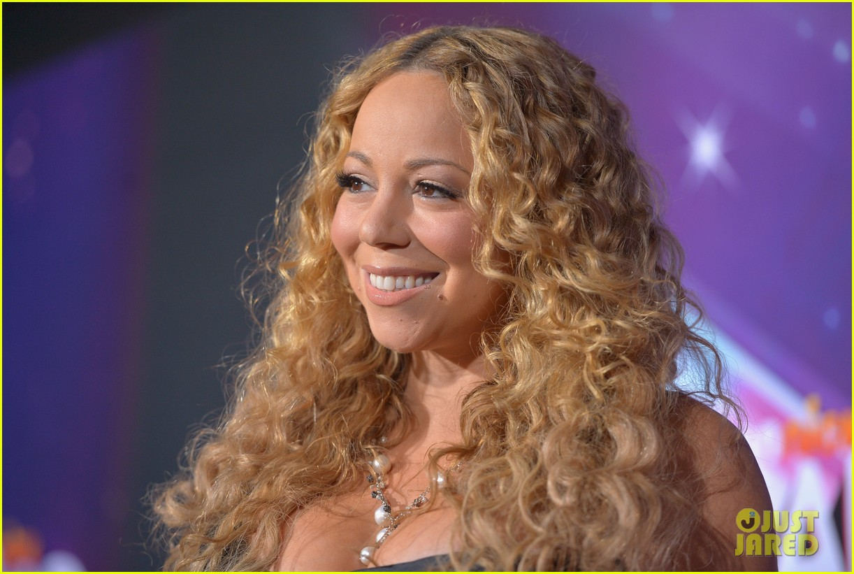 mariah carey nick cannon teennick halo awards 2012 082759715