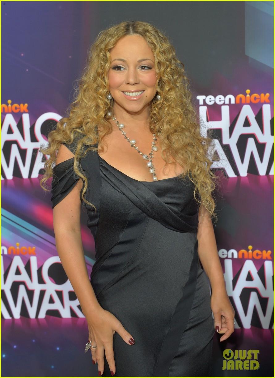 mariah carey nick cannon teennick halo awards 2012 162759723