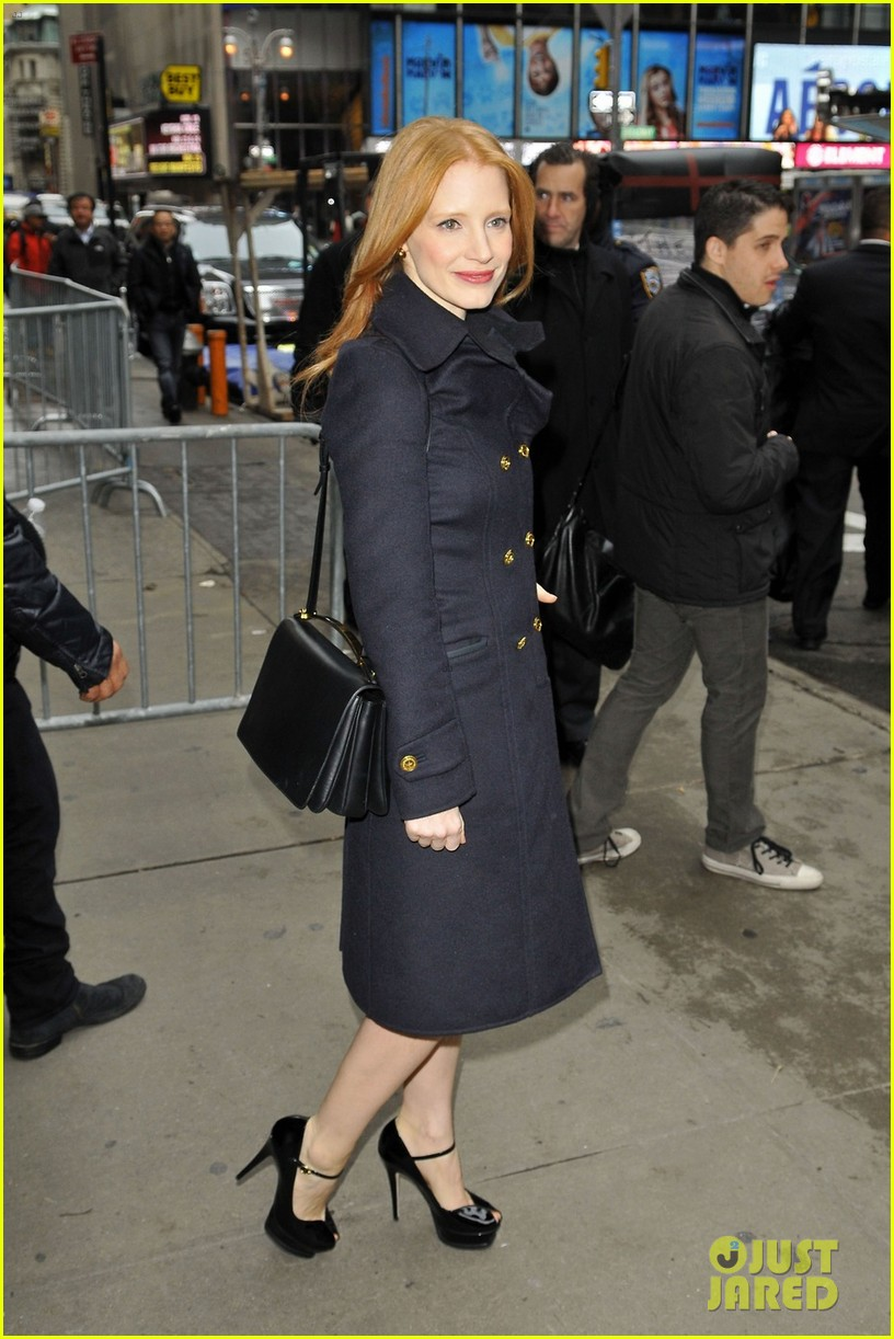 jessica chastain good morning america 032753851