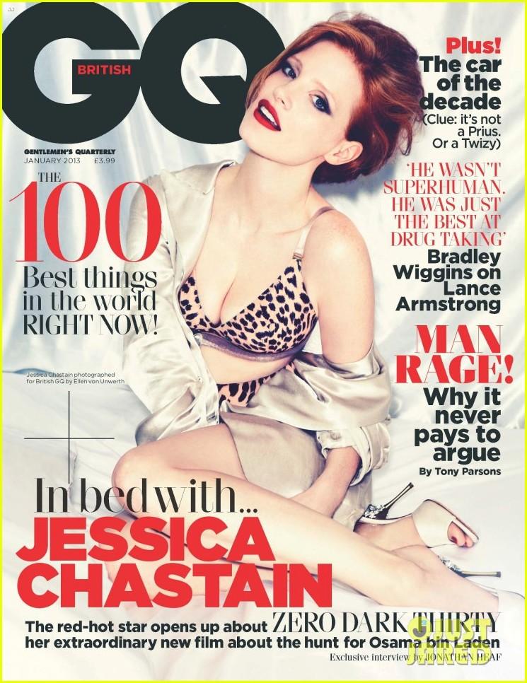 jessica chastain covers british gq january 2013 012764578