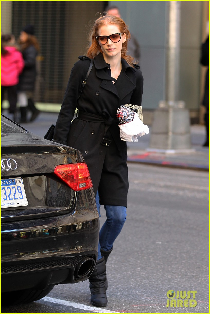jessica chastain heiress arrival 052751493