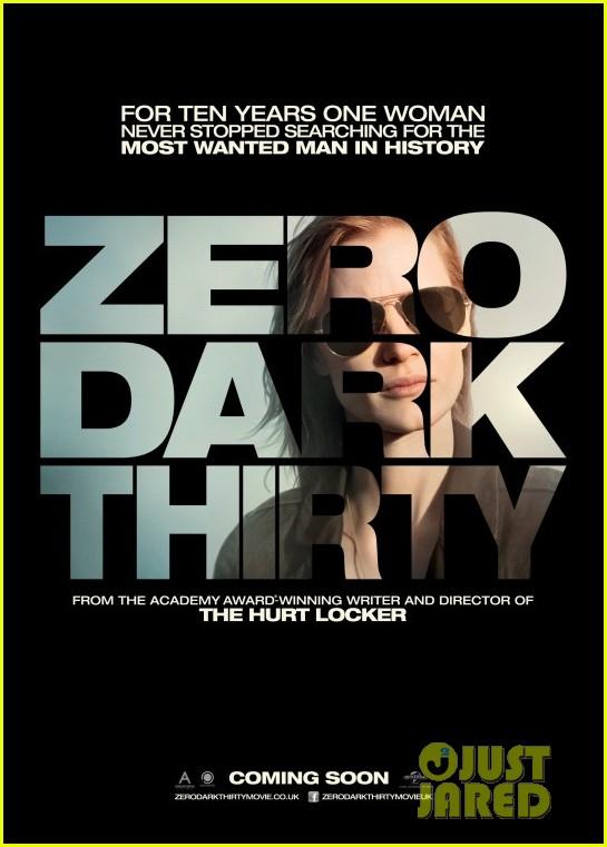 jessica chastain new zero dark thirty poster 032761505