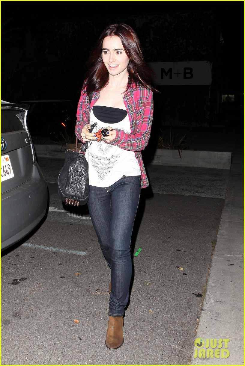 lily collins steps out after mortal instruments trailer debut 092758375