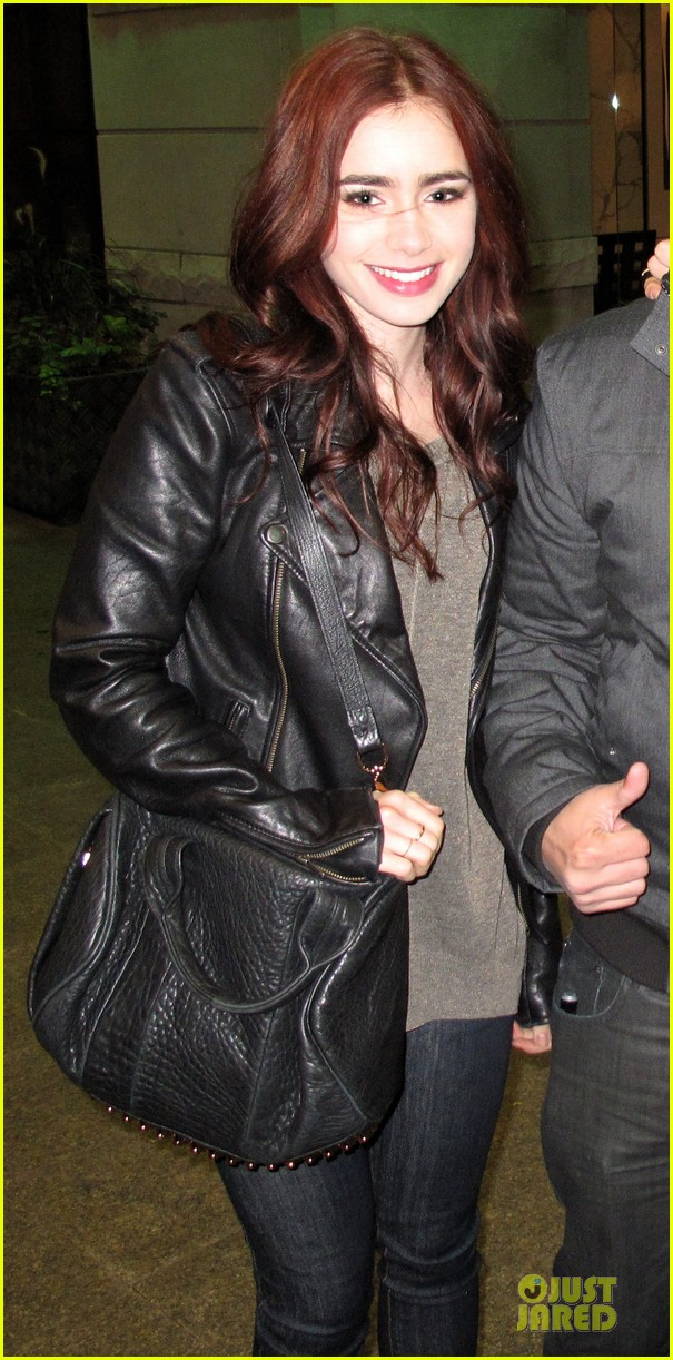 lily collins jamie campbell bower mortal instruments wrap party 012751297