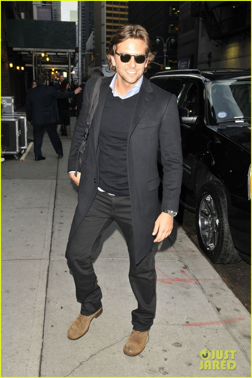 bradley cooper letterman silver linings press conference 012756061