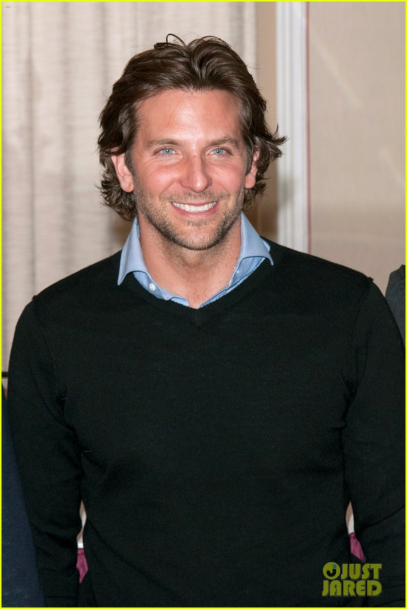 bradley cooper letterman silver linings press conference 13