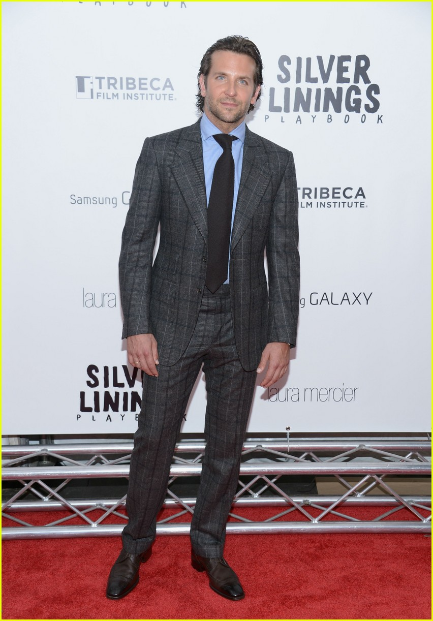 bradley cooper silver linings playbook nyc premiere 032756161