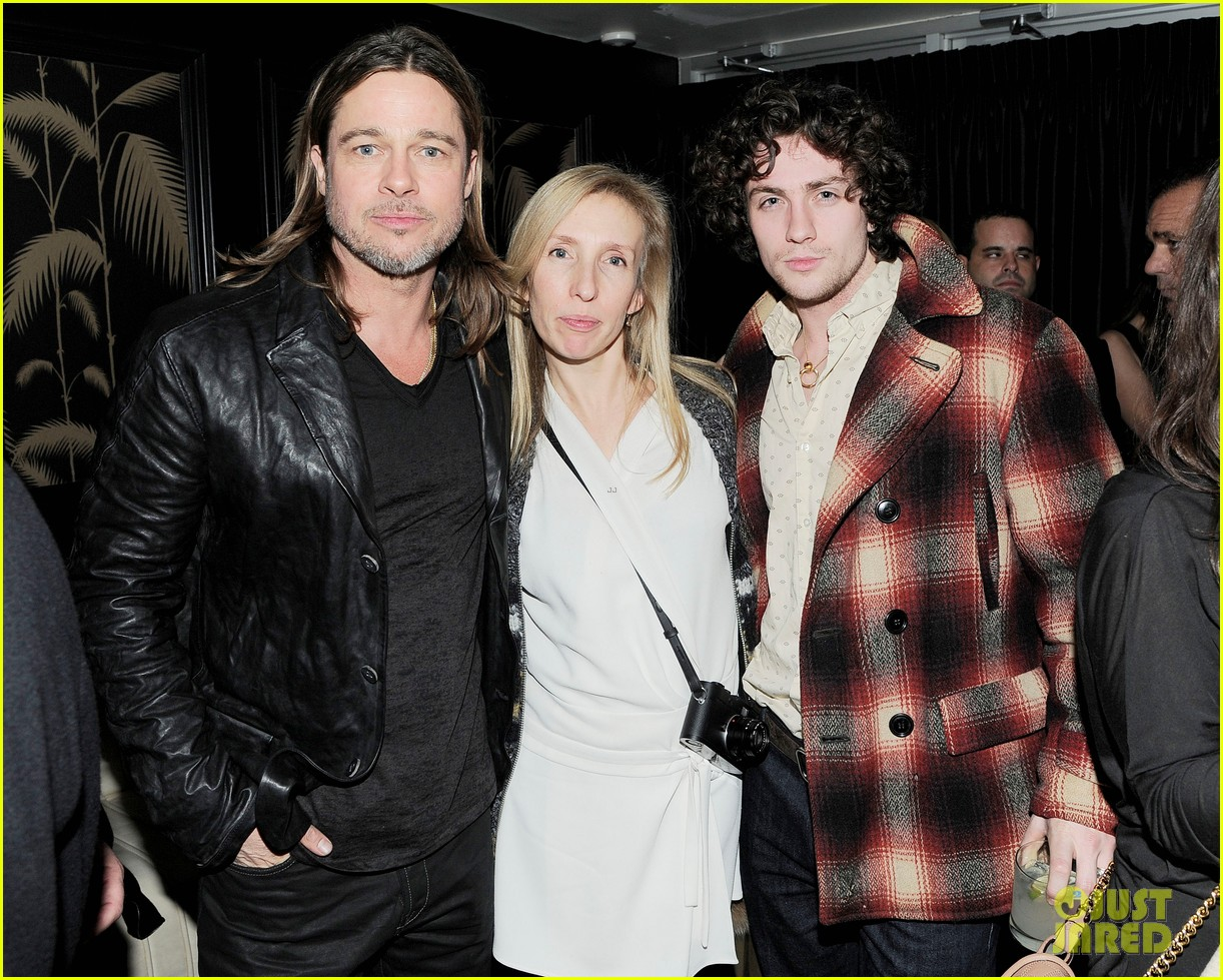 marion cotillard aaron taylor johnson killing them softly after party 122764693