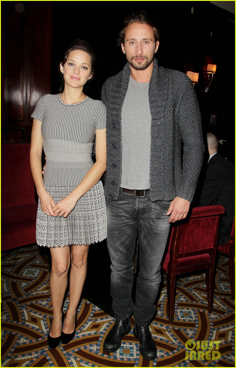 marion cotillard rust and bone lunch with matthias schoenaerts 062764824
