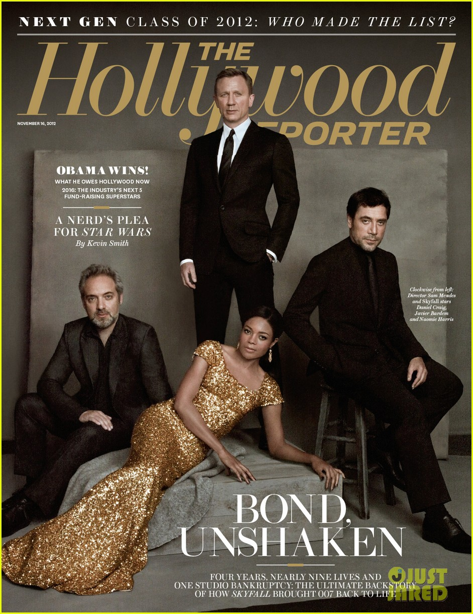 daniel craig skyfall cast cover the hollywood reporter 05
