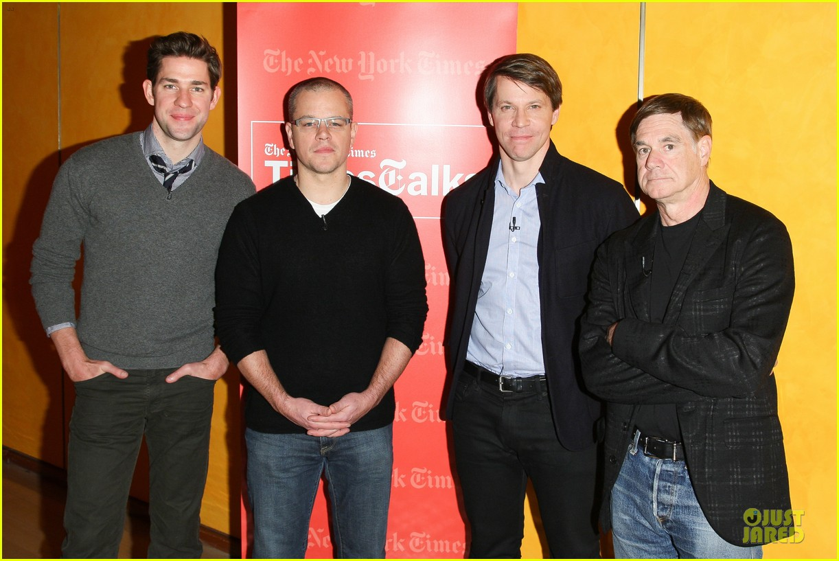 matt damon john krasinski promised land timestalks event 01