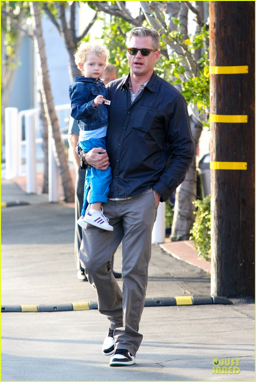 eric dane rebecca gayheart holiday shopping with billie 012764845