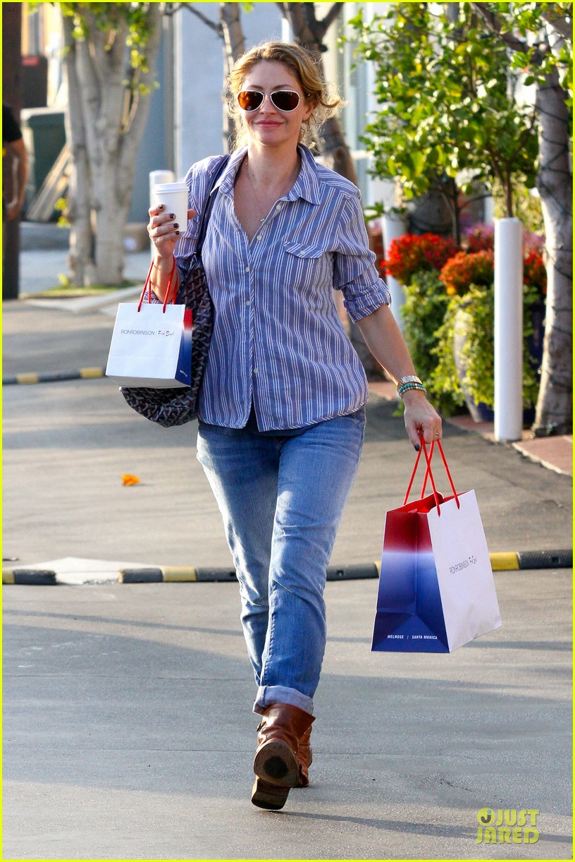 eric dane rebecca gayheart holiday shopping with billie 032764847