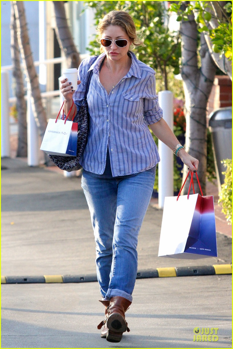 eric dane rebecca gayheart holiday shopping with billie 142764858