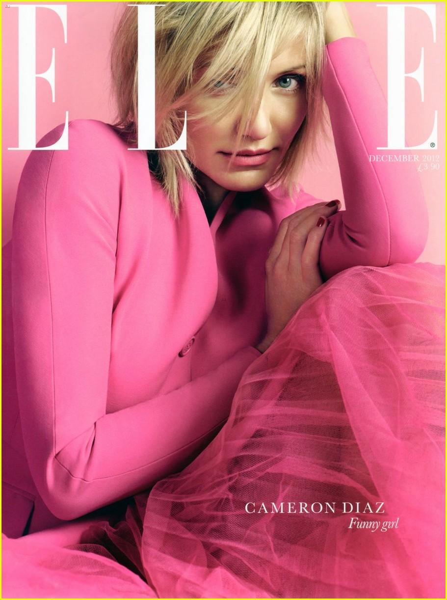 cameron diaz covers elle uk december 2012 012751481