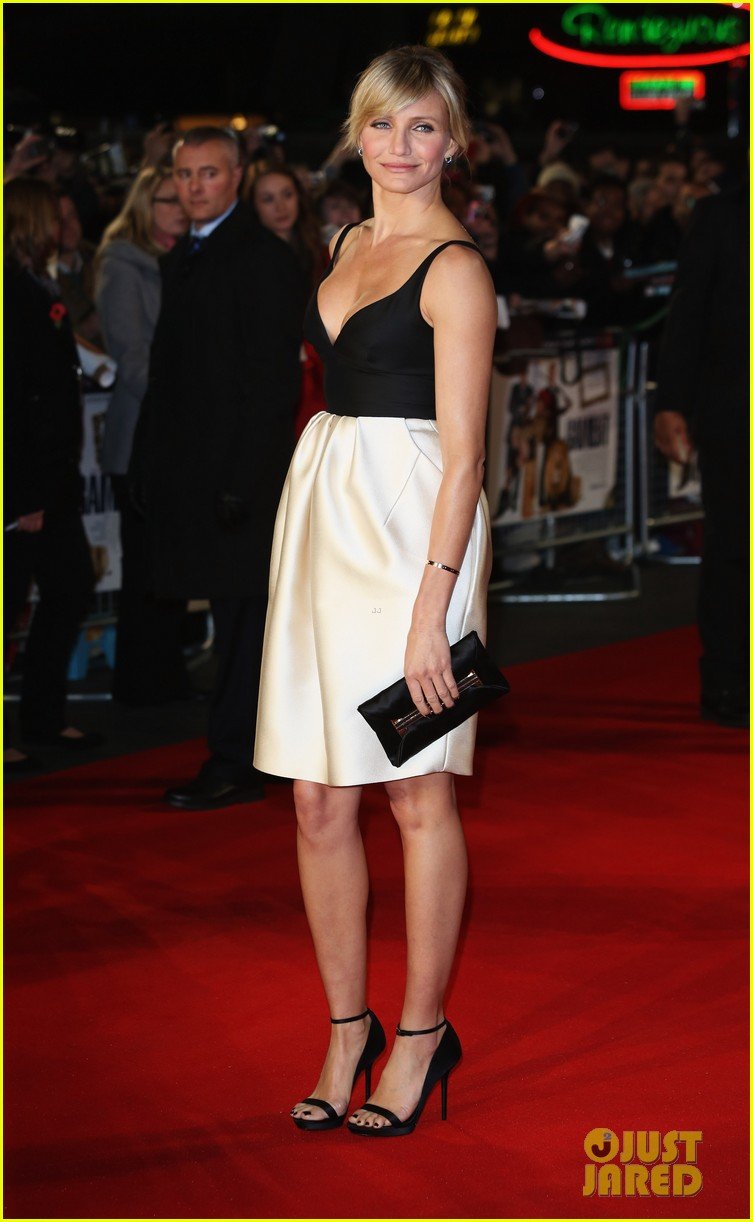 cameron diaz gambit world premiere with colin firth 012752618