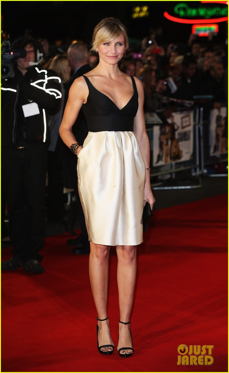 cameron diaz gambit world premiere with colin firth 072752624