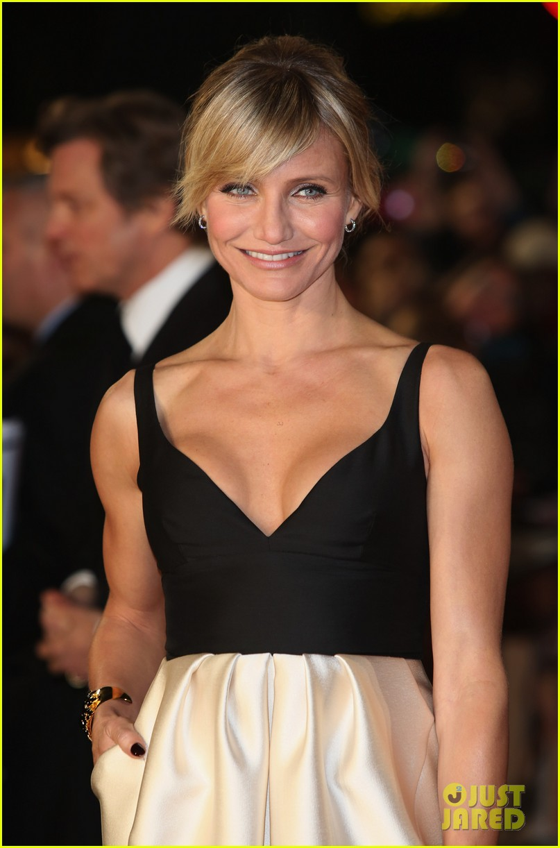 cameron diaz gambit world premiere with colin firth 102752627
