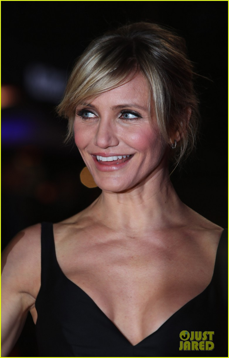 cameron diaz gambit world premiere with colin firth 162752633