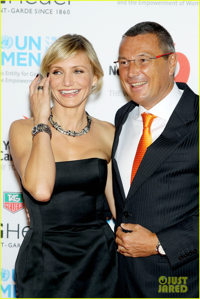 cameron diaz tag heuer watch launch 032754935