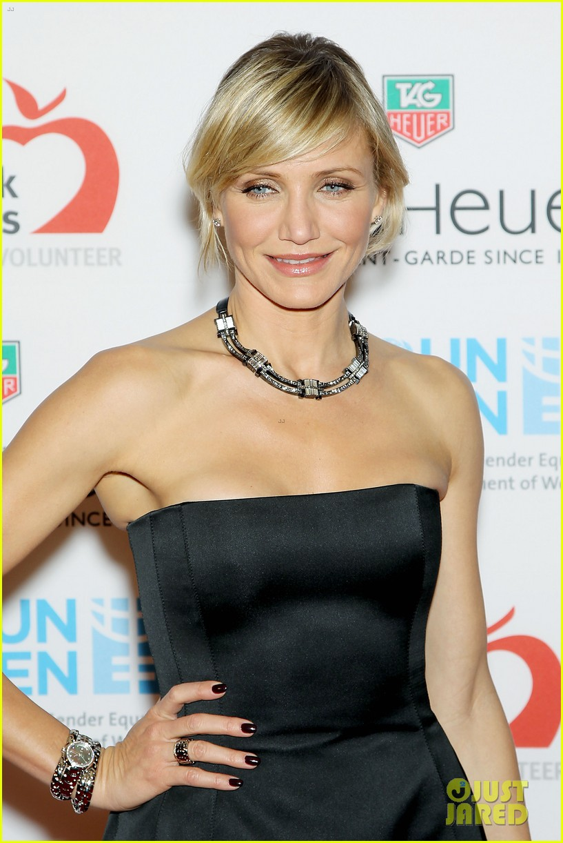cameron diaz tag heuer watch launch 052754937