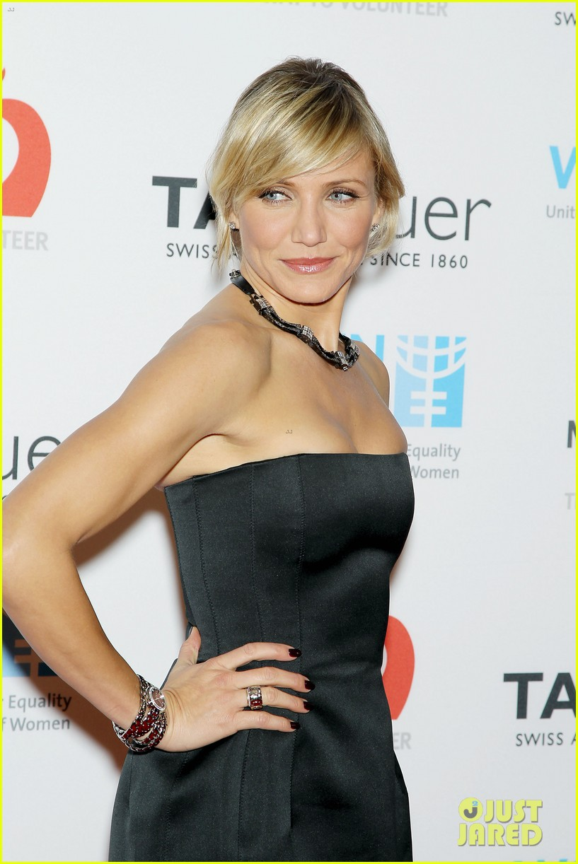 cameron diaz tag heuer watch launch 072754939