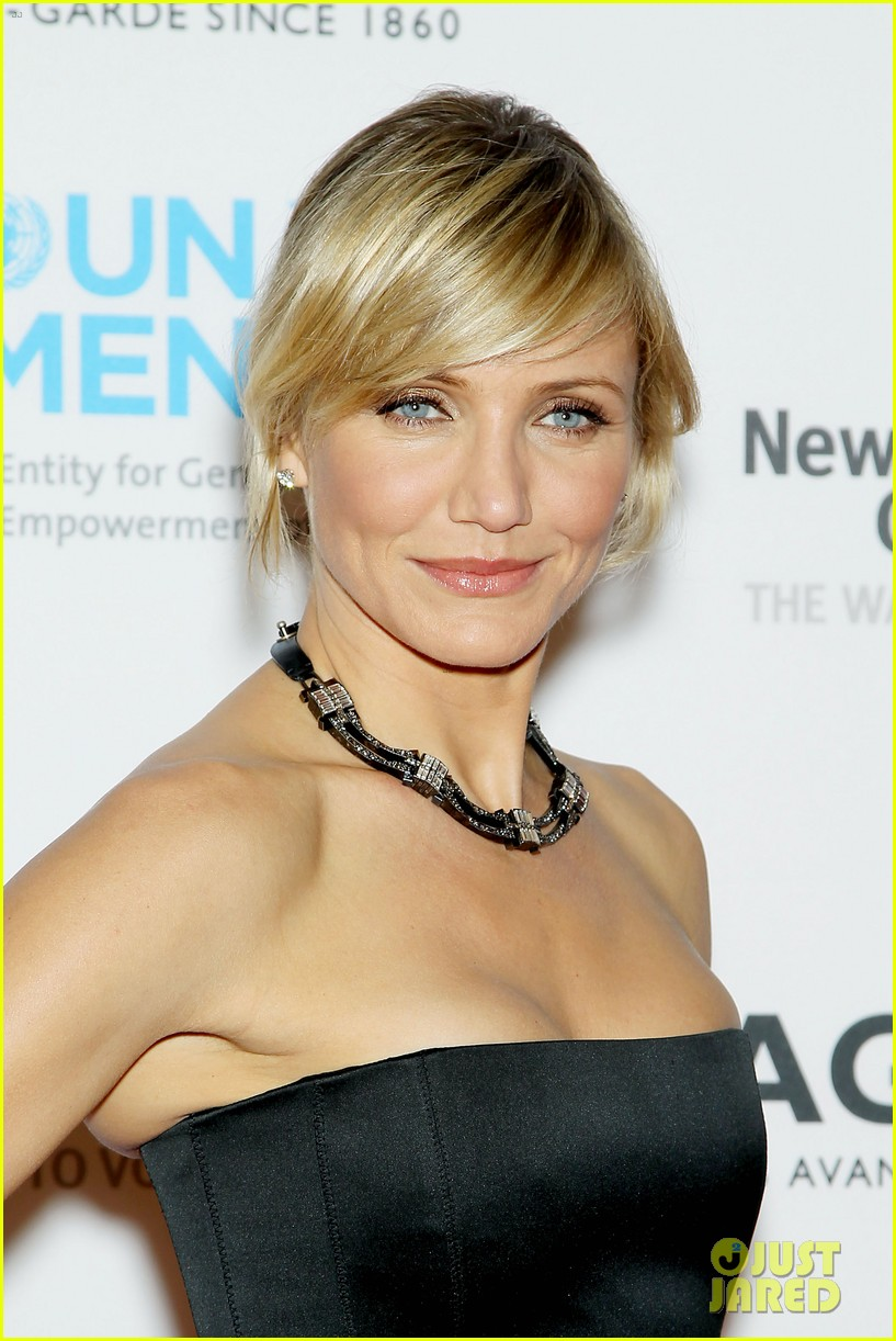 cameron diaz tag heuer watch launch 09